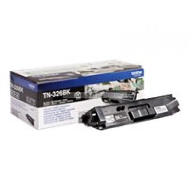 toner laser brother tn326bk noir. Black Bedroom Furniture Sets. Home Design Ideas