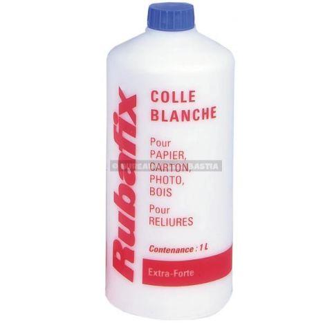 Colle blanche liquide 1 l rubafix esselte - Colle liquide blanche ...